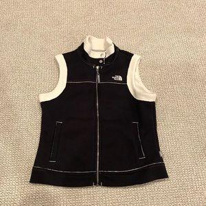 The North Face A5 Series Black Fleece Vest